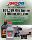 930,599-Mile Engine - 1 Million Mile Van