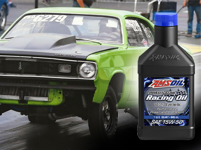 "AMSOIL Delivers ""Shocking"" Protection in Drag Racing Engine"
