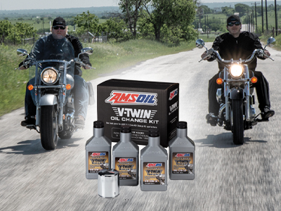 New V-Twin Oil Change Kits